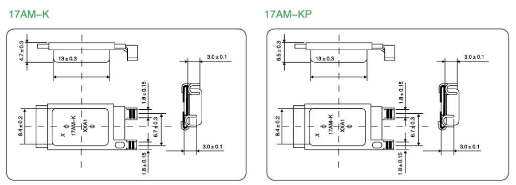 汽车马达热保护器17am-k选型6步曲
